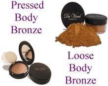Mineral de bronceado- resplandor parabén gratis- productos de maquillaje mineral natural da vinci cosméticos