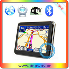Alibaba China Supplier Tingway Gps Navigation With Bluetooth + Av-In + Dtv Isdb-T, 5.0 Inch Gps Navigation With Free Europe Map