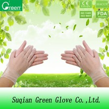 pvc gloves disposable stretchy glove high quality AQL1.5/2.5/4.0