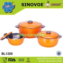 SGS quality 3 ps set thermal food warmer container