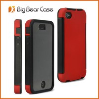 wholesale mobile phone cases for iphone 4 custom hybrid case for iphone 4s