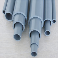 electrical conduit pipe specification pvc pipe fitting grey