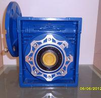 NMRV 030-130 Series Worm reverse gearbox motor reducer/ geared
