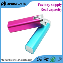 new style manual for power bank 2600mah