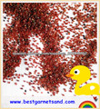 Características de larga duración bastidor de arena granate producto de arena de
