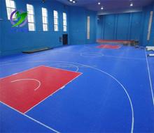 2015 Alibaba China Virgin Polypropylene Interlocking Basketball Outdoor Flooring
