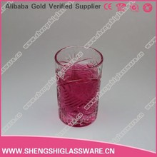 330ml clear soft drinks glass cup