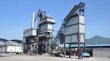Bitumen Equipment TIETUO 100ton Asphalt Mixing Plant PLB-1200 with Storage
