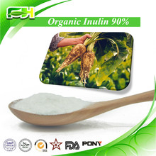 2015 New Certified Organic Chicory Root Extract Inulin, Organic Inulin Powder, 90% Organic Inulin