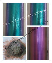 Chameleon pigment color changing by angle