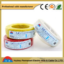 Colored Shanghai Ningbo Port PVC Isulated Single Wire Electric Wiring