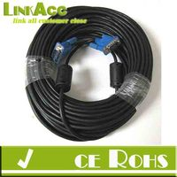 Linkacc1-th50 50' FT FEET 50FT SVGA VGA M/M LCD LED Monitor BLUE VGA Cable Male to Male