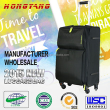 women&man suitcase with wheel, travel bag, compass luggage