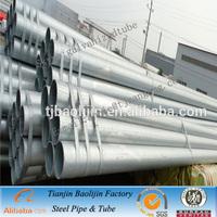 astm a53 gr.b galvanized erw schedule 40 pipe