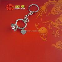 Hot Sale Metal/leather custom made metal key chain,keychains