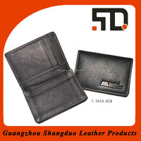 Guangzhou Factory Price Genuine Leather Business Card Holder