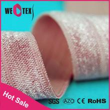 For fashion underwear nylon gleaming nylon elastic band