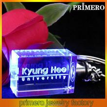 PRIMERO fashion gold plating wholesale jewelry Luminous key chain Creative new key fob Zodiac crystal keychain