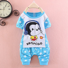 hot sale boy monkey summer clothing sets with good quality