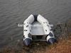 Liya 4.7m inflatable boat aluminum floor passenger boat sale