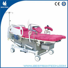 BT-LD001 Hot sales!!! Multifunction electric gynaecology bed
