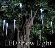 2012 New type holiday decoration light led falling snow light