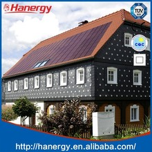 Hanergy best price 15 kw solar panels for home solar system on flat roof