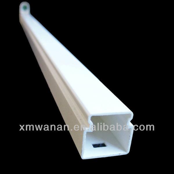 L mpara de led blanco marco hueco de tubos de pl stico for Tubo pvc translucido