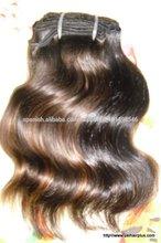 Fábrica 7a top venta!! Baratos humano virgen india pelo onda 100% humanos mayor grado superior de pelo