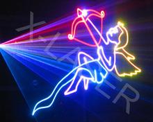DMX512+ILDA+SD rgb laser projector ilda/1000mW MINI laser disco lights /programmable laser lights