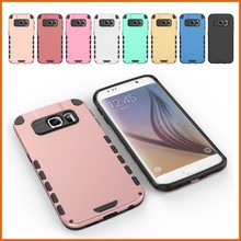 Luxury simply design PC minion phone cases for samgsung S6/S6 edge