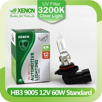 XENCN HB3 9005 12V 60W 3200K Clear Series Original Car Headlight High Quality Halogen Bulb Auto Fog Lamps for Honda OEM