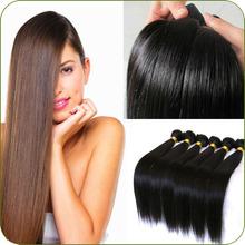 One Donor Virgin Hair Weft Large Stock eurasian human hair