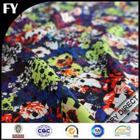 2015 Summer hot sale digital print spandex polyester pineapple fabric
