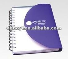 2012 Eco-friendly spiral notebook