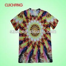 China branded tshirts compressed tshirts