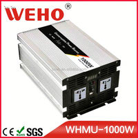 Hight frequency 1000w 12v 220v kbm power inverter with charger
