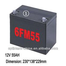 12v lithium ups batteries pack 55 ah for ups