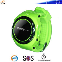 2014 Hot selling outdoor kids use GPS/SOS watch