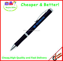 Factory prices Decent metal pen logo laser pen metal ballpoint pen