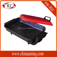 2014 new production non-stick table -top bbq electric contact grill