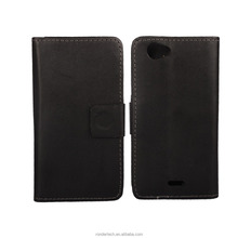 White and black Cell Phones Accessories 100 Pattern Wallet Flip Leather Case For sony Xperia st26i
