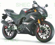Motorcycle unique 125cc cruiser chopper motorcycle