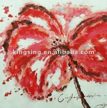 Handmade Flower Oil Painting for Decoration 2012