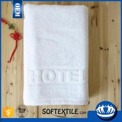 Luxury Five Star 100% cotton with customized logo towels hotel