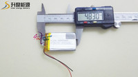3.7v li-ion 900mah battery 603048 lipo battery cell in IEC and UN standard