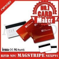 Contactless rewritable pvc magnetic stripe hotel door lock key system cards, smart hotel lock key card, pvc hotel cards