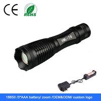 high power waterproof rechargeable 10000 lumen led flashlight
