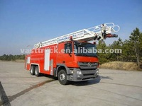 North Benz 9m3 Aerial ladder fire fighting truck