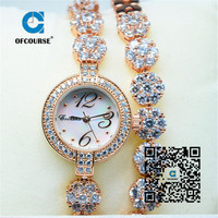 European and American stars Fashionable time chain jewelry accessories original series quartz watch